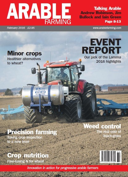 Arable Farming January edition available here
