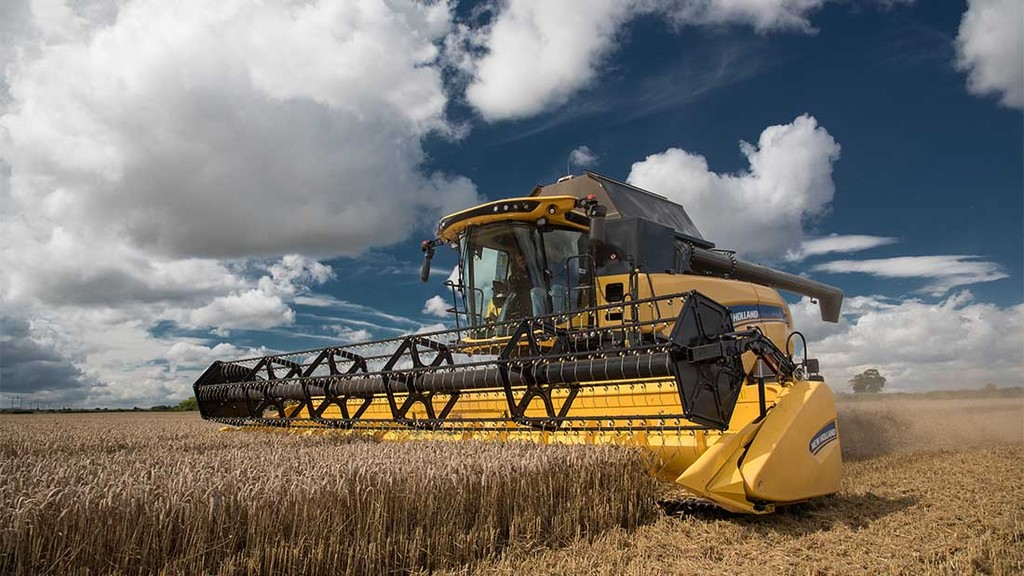 On-test: New Holland refines its CX combine range