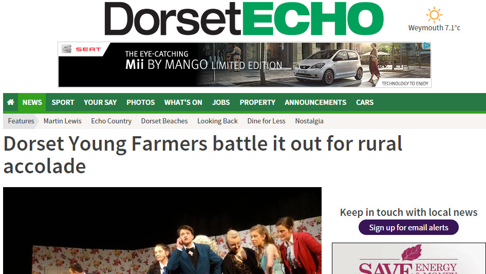 Dorset Young Farmers battle it out for rural accolade