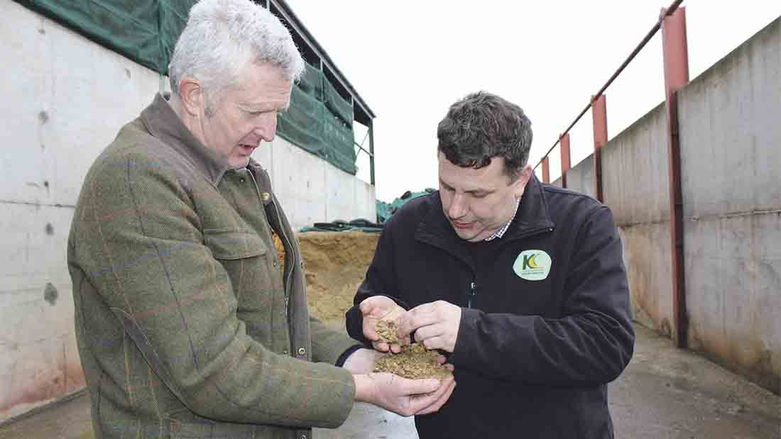Feeding home-grown beans on beef finishing unit a worthwhile success