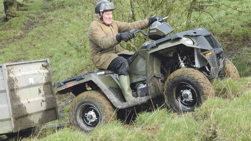 quad polaris sportsman 450