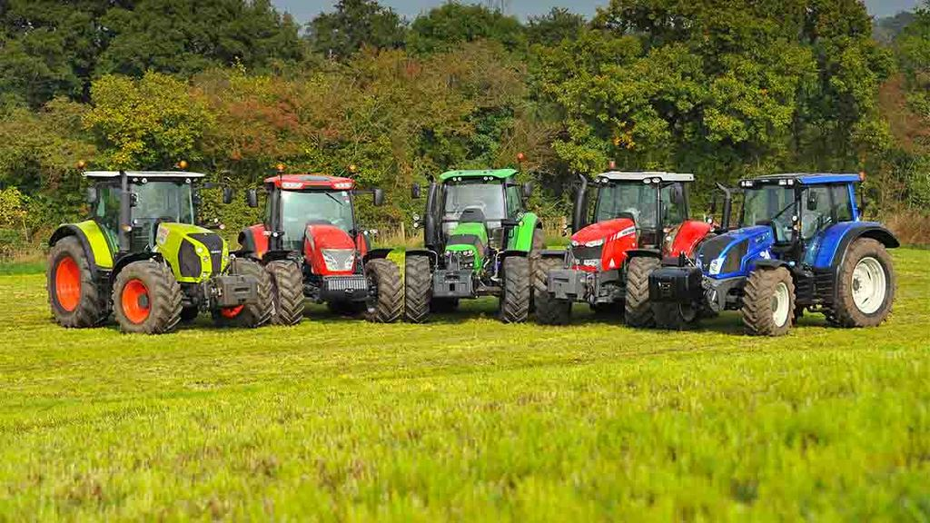 Tractor shares remain static, but overall market nose dives