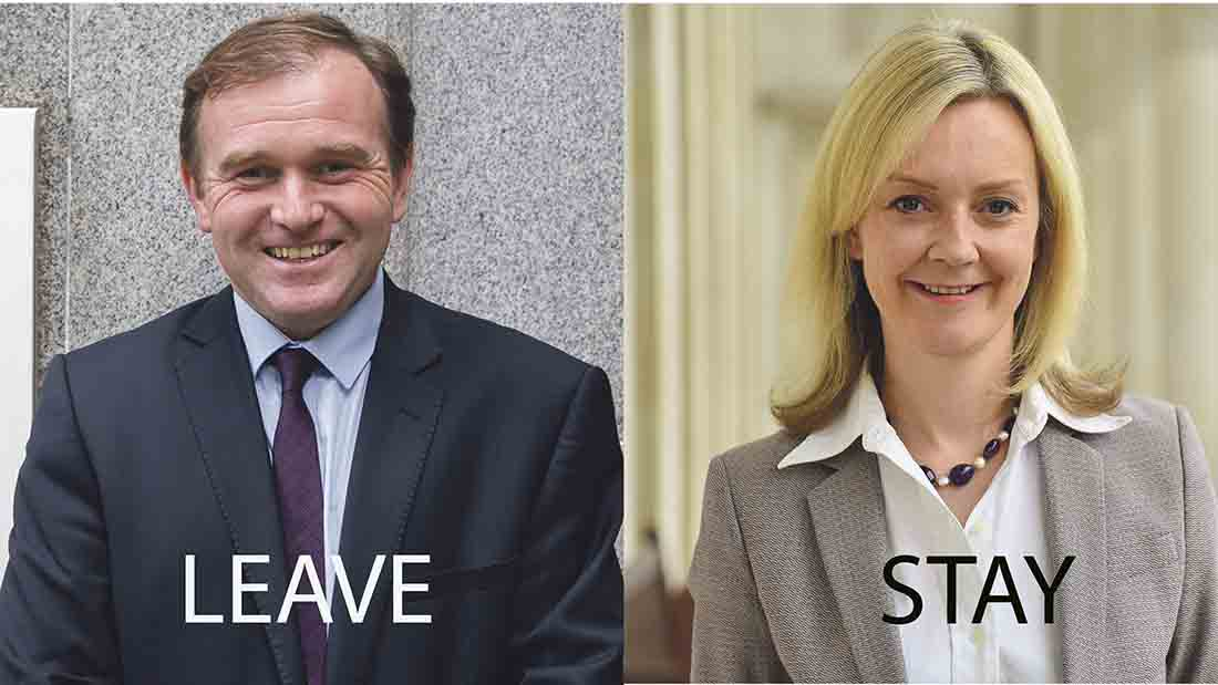 Battle of the farming leaders - Truss versus Eustice on red tape and regulation