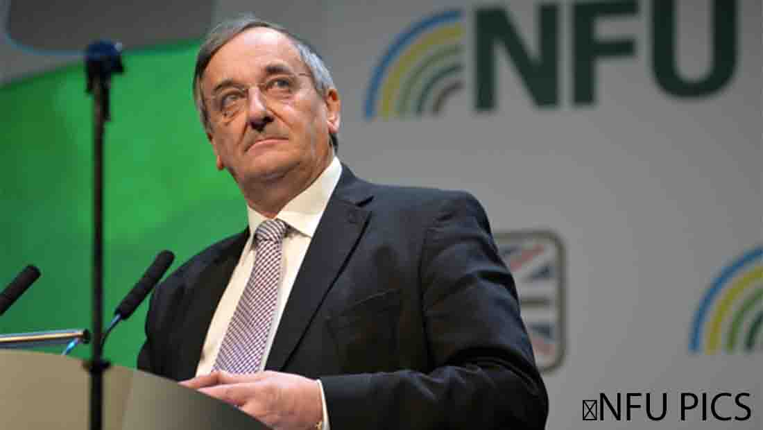 NFU president Meurig Raymond said unions are providing a united front for the 76,000 farm businesses