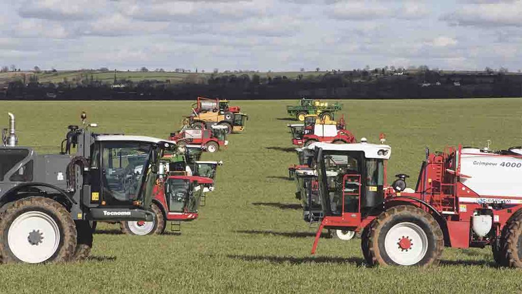 Sprayer manufacturers target stability