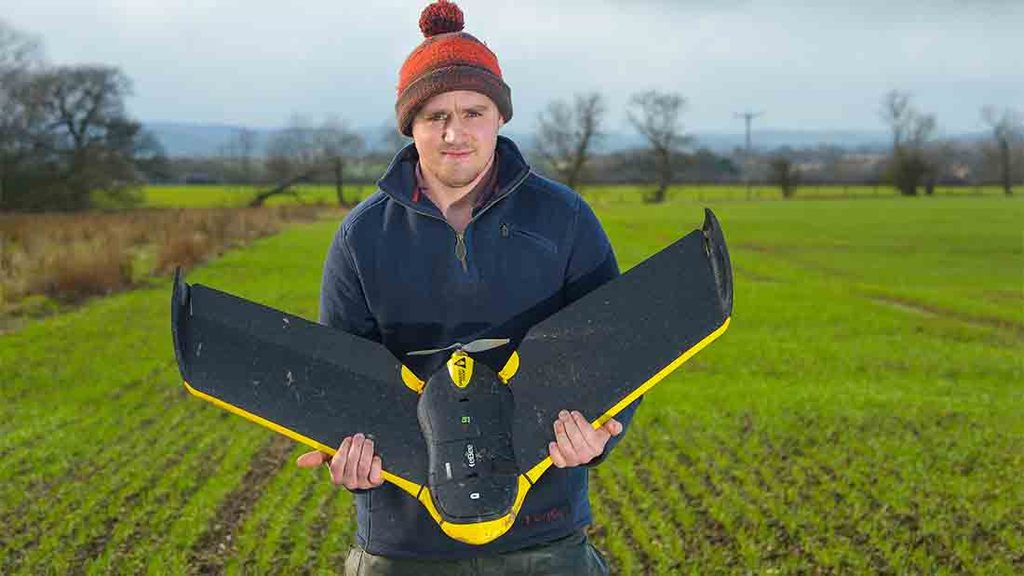 Yorkshire farmer looks to the skies for strategy to control black-grass