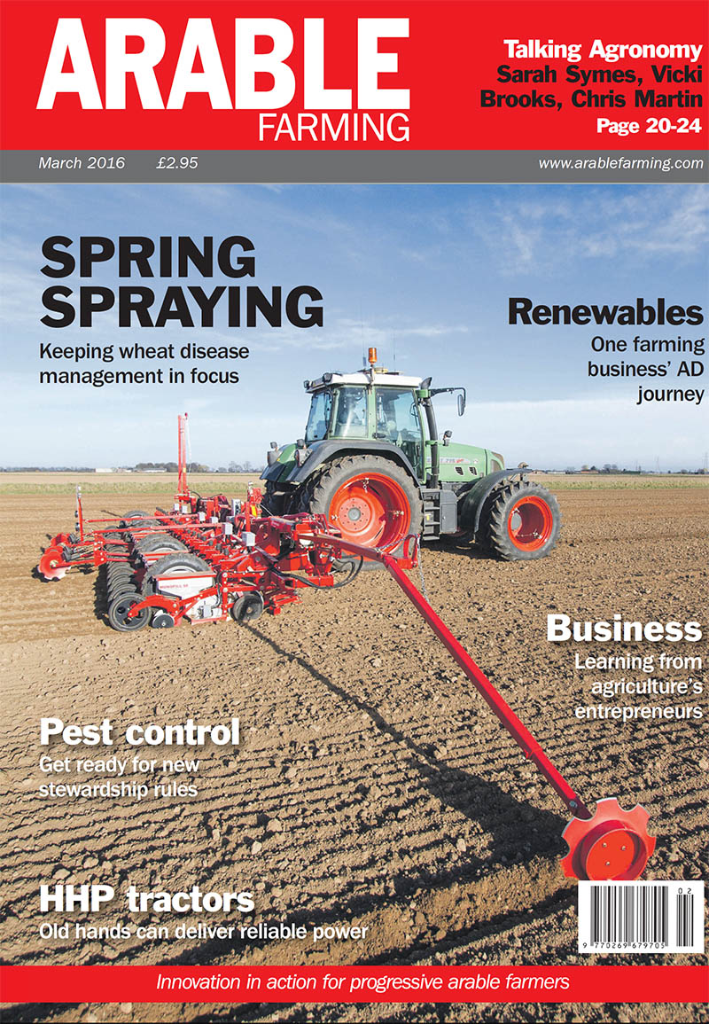 Arable Farming March edition available here