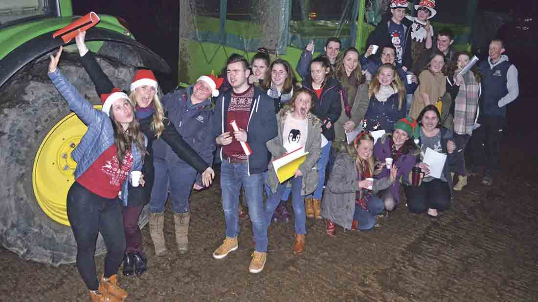 My YFC - Usk and District Young Farmers Club - pirate ship mishaps, caroling, dancing, and more