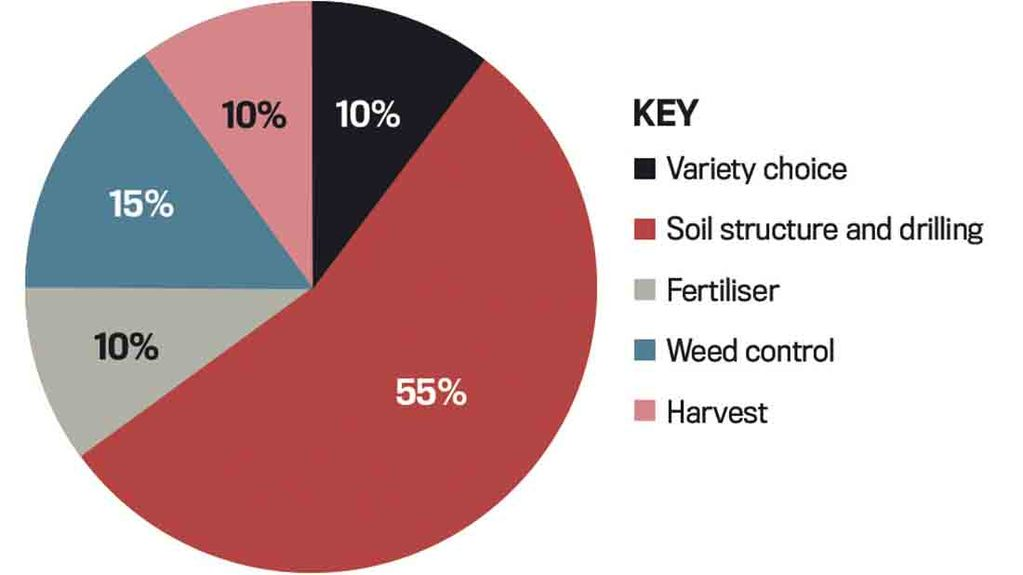 Agronomic factors which contribute to maize yield variation