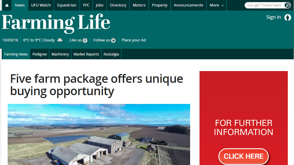 Five farm package offers unique buying opportunity