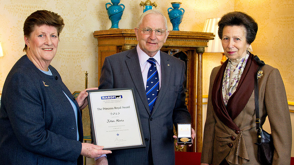 'Only dairy businesses with fat on their backs will survive' - RABDF Princess Royal Award winner