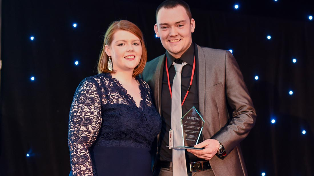 Young farmers recognised in Lantra Scotland's Learner of the Year Awards