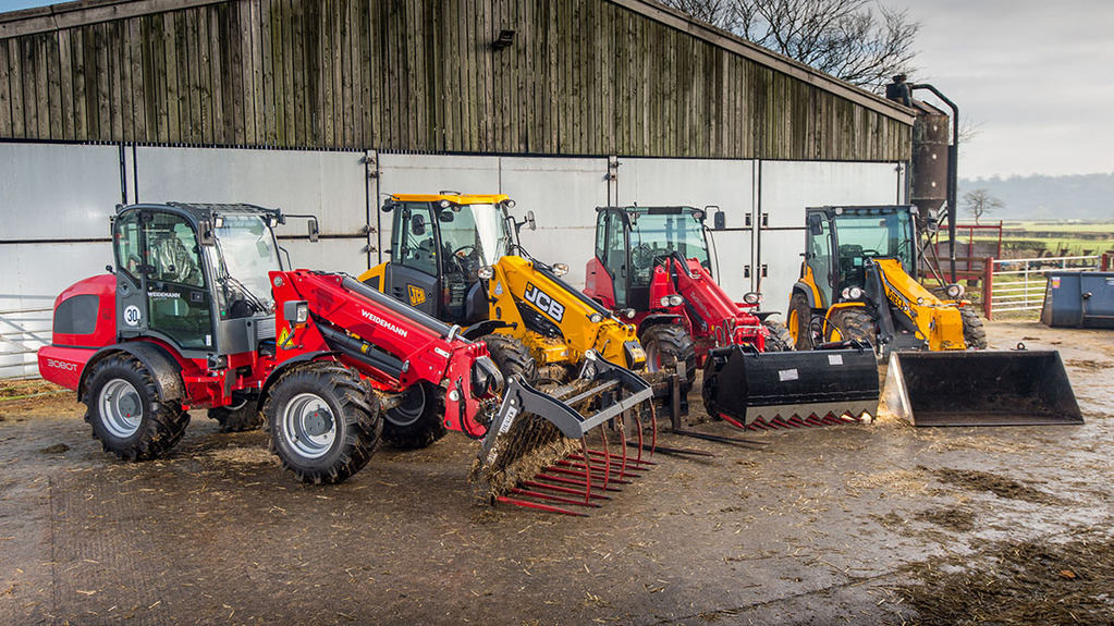 On-test VIDEO: Watch four pivot steer telehandlers go head-to-head