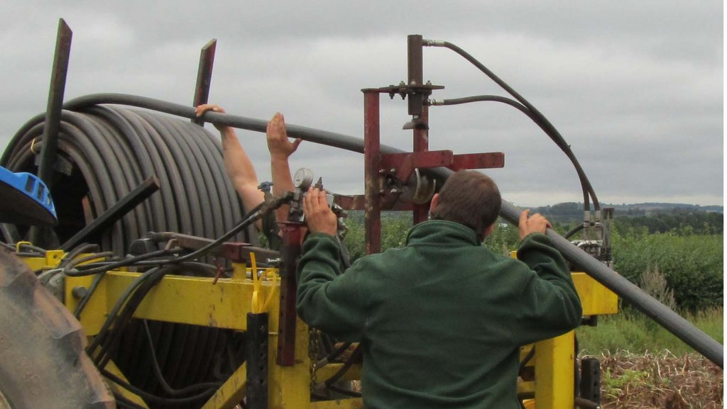 Roll up, roll up; Wells Rain develops reel-able solid set irrigation system