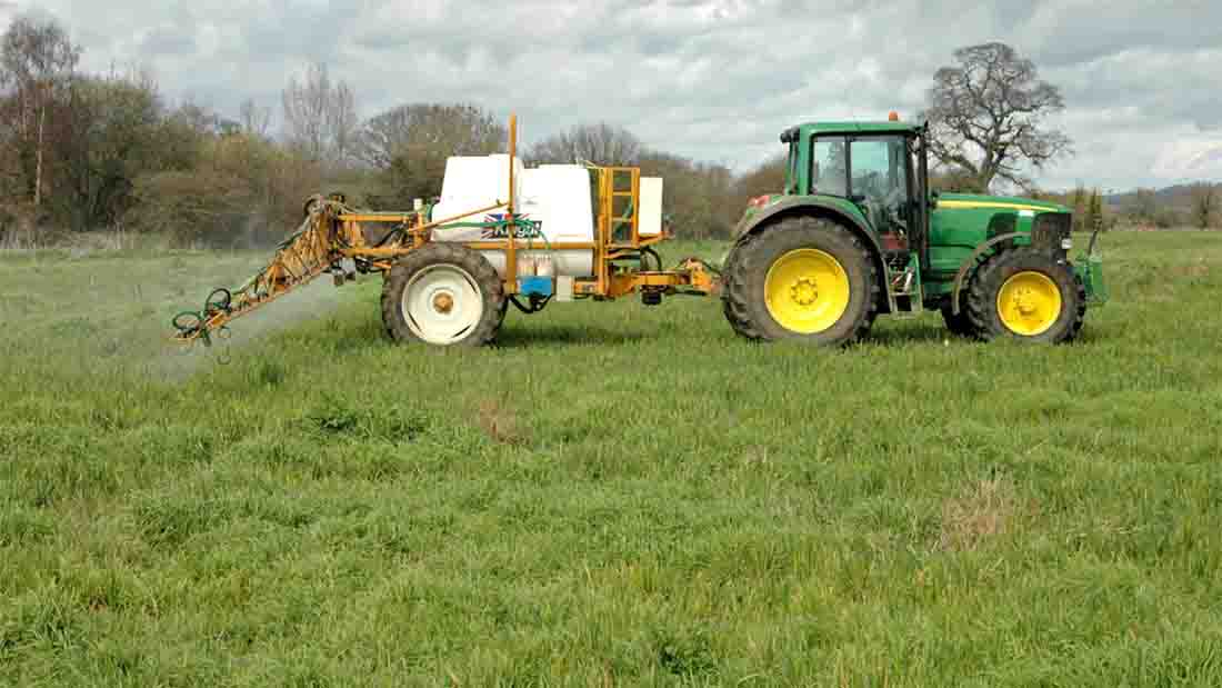 Glyphosate is the world's most widely used herbicide