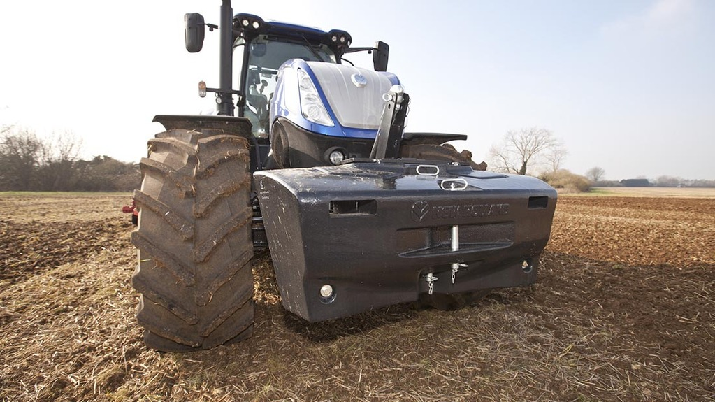 New Holland Tractor Wheel Weights : On test new holland t family grows with heavy duty