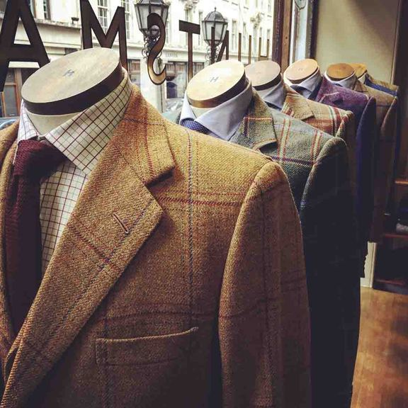 Tailors can command premium prices for wool produced designs in their clothing range