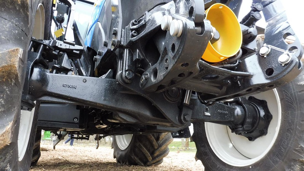 Tractor Front Suspension : New holland updates core t and tractor models news