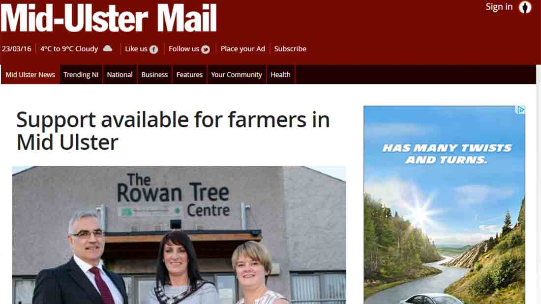 Support available for farmers in Mid Ulster