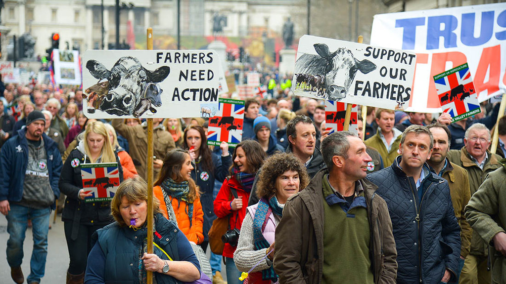 NFU demands action on post-Brexit food standards as Westminster rally plans unveiled