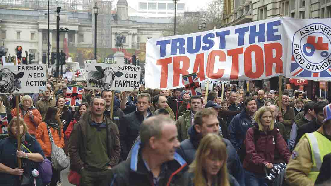 VIDEO: Struggling farmers' march hailed an industry success