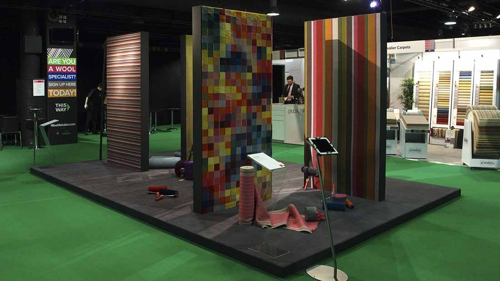 The wool flooring event showcased the very best in design
