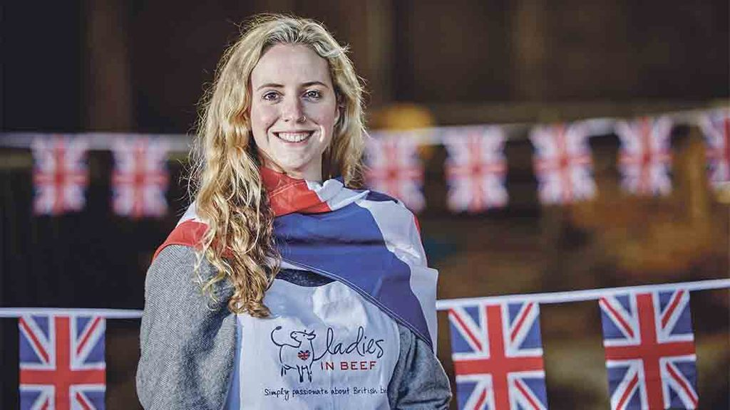 Young butcher is face of Great British Beef Week