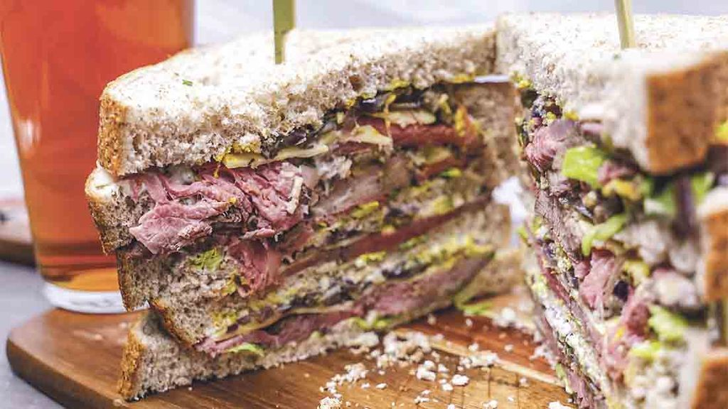 Beefy butty