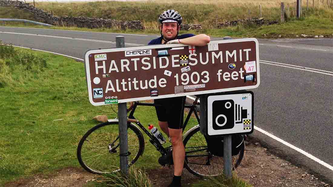 Dentist set to cycle from Downing Street to raise money for flood-hit Cumbrian farmers