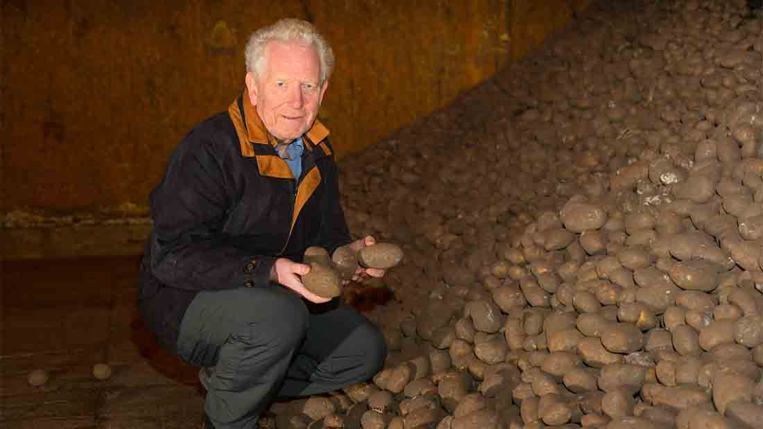 Colin Bradley has been involved in the potato industry for 35 years