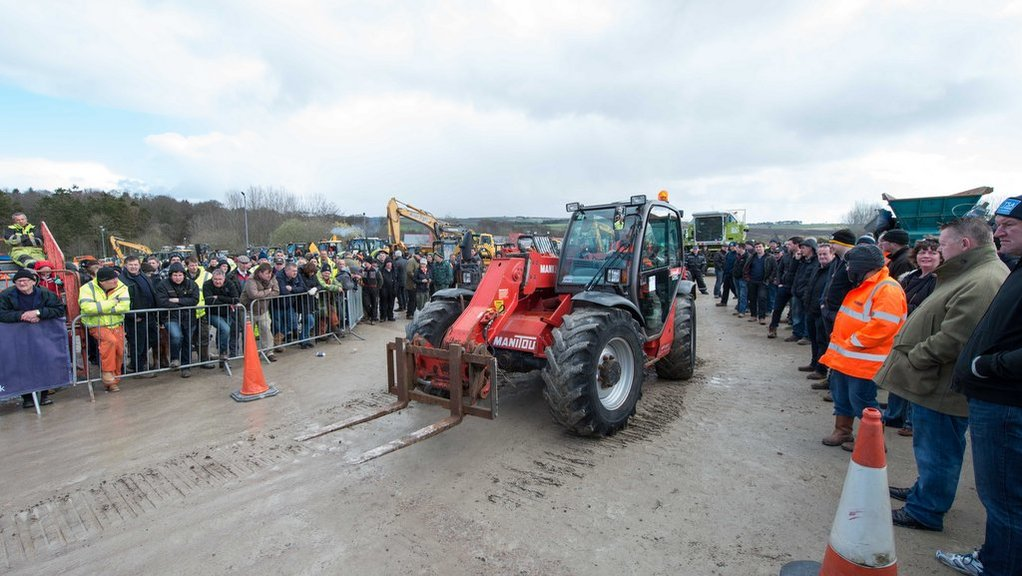 A variety of machinery attracted buyers from all over the UK and Ireland to Thainstone's latest sale