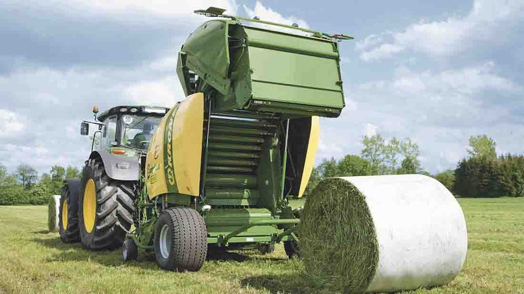 Film on film balers balers: fantastic plastic.... or is it?