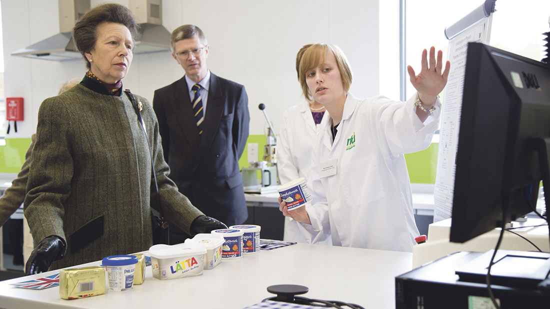 Royal approval for new dairy innovation centre at Harper Adams