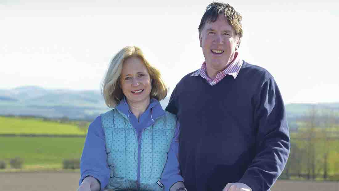 Lucy and Anthony Carroll won Arable Innovator of the Year at the 2015 British Farming Awards