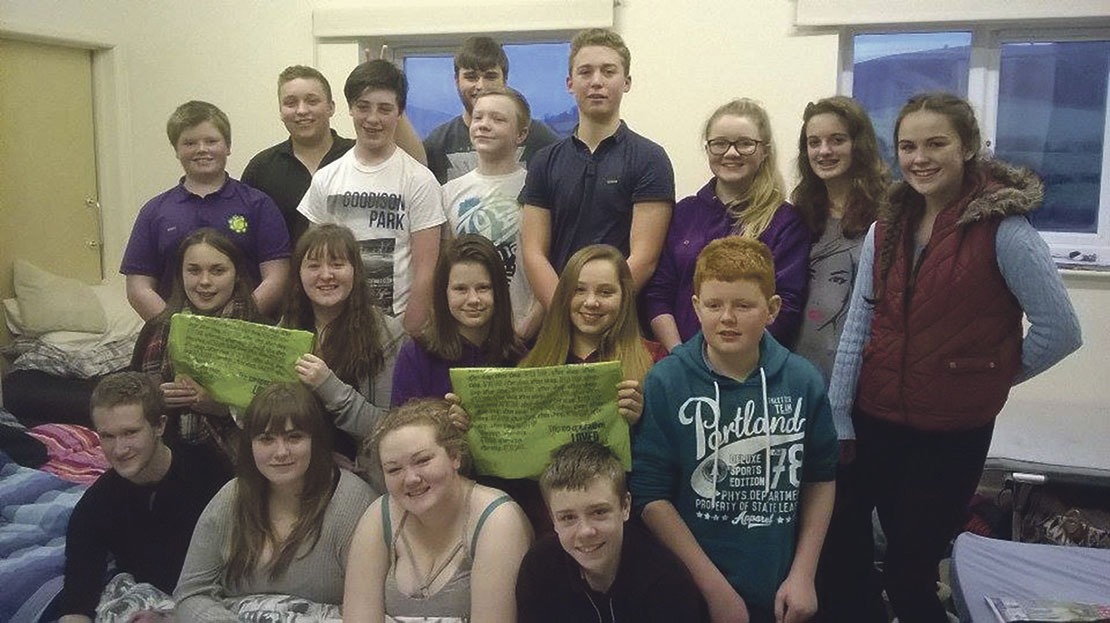 Edw Valley YFC embrace no technology