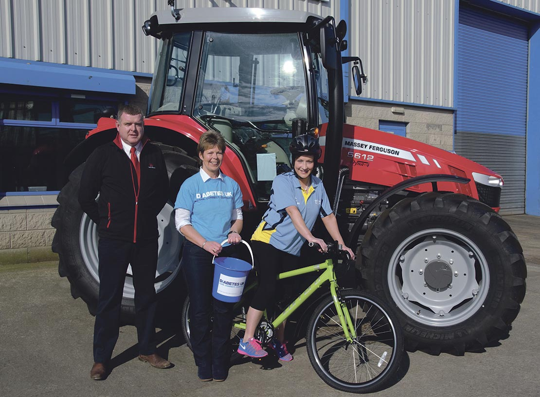 YFCU Clubs cycle 86 miles for charity