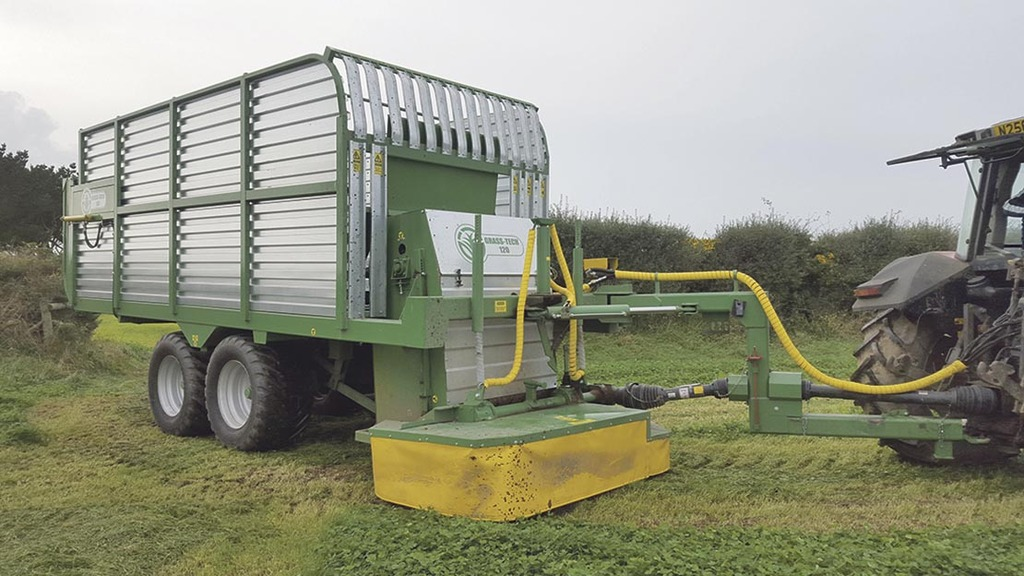 Zero grazing machine reduces input costs