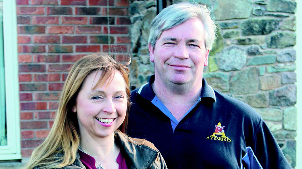 Deborah and Blaise Tomlinson now farm at Nanpantan, Leicestershire.