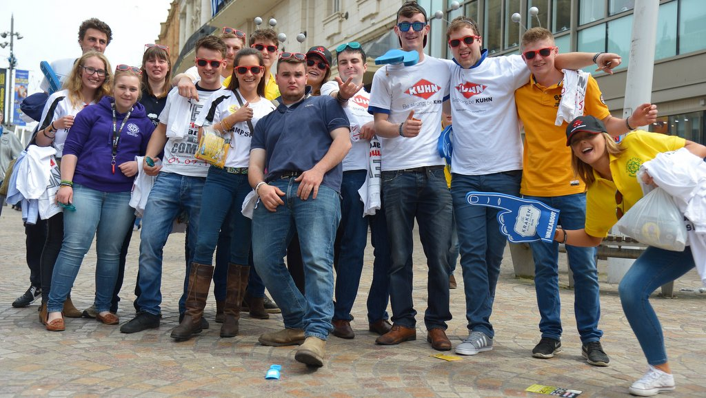 AGM 2016 - How fast can Young Farmers drink a pint of milk?