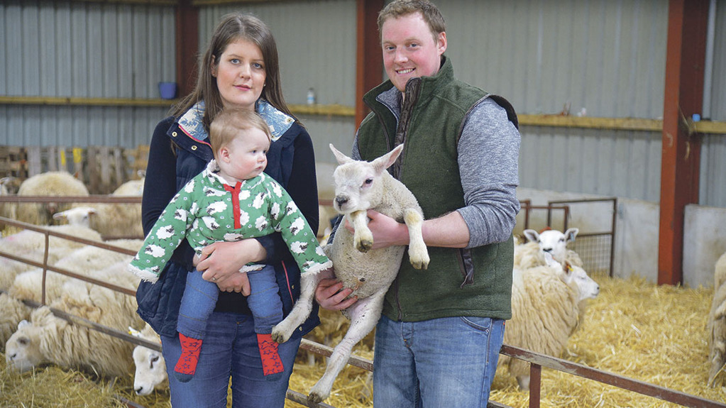 One to watch - Michael Jones: First generation sheep farmer makes his mark