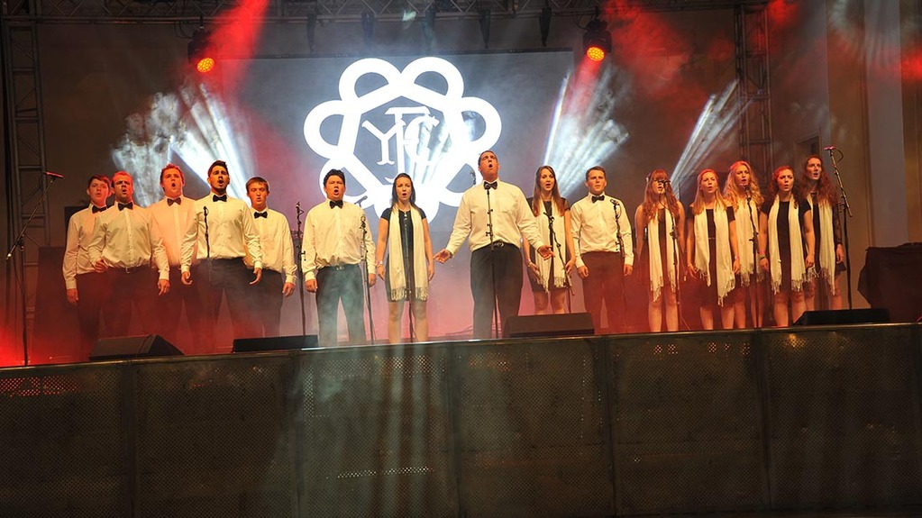 Devon were named the winners of the 2016 national choir competition