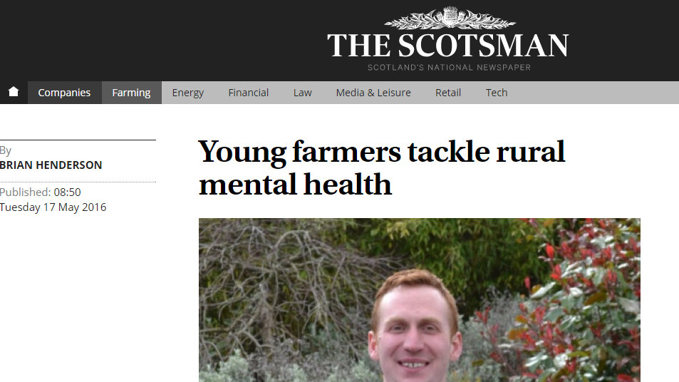 Young farmers tackle rural mental health