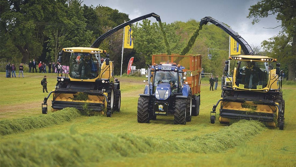 ScotGrass 2016: Latest grassland kit put through paces