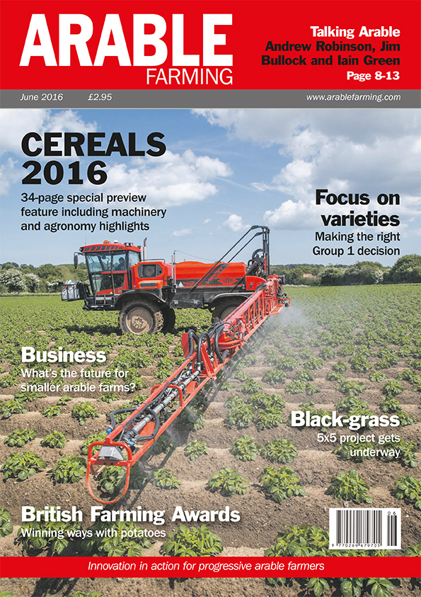 Arable Farming June edition available here