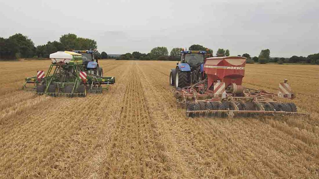Machinery in Practice: CTF and cover crops working hand in hand