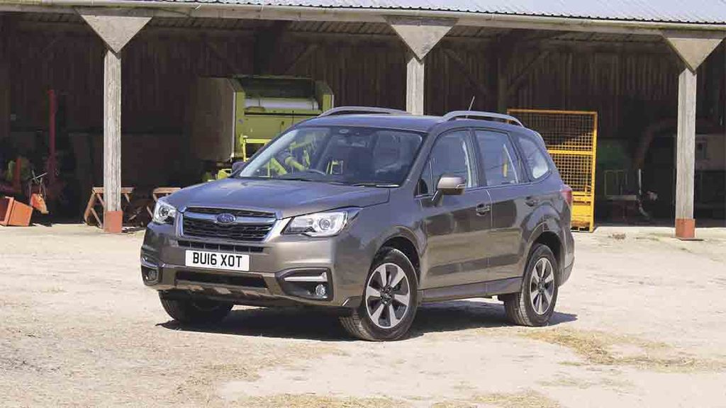 If you can get past the latest Forester's looks, its Boxer diesel engine continues to reward.