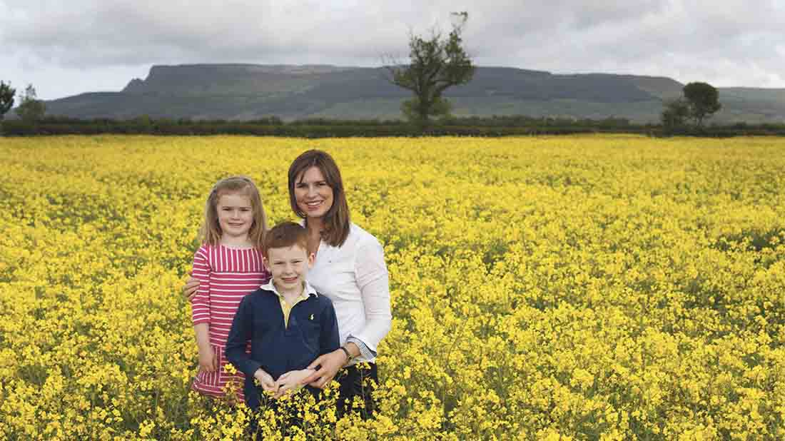 Family takes a gamble on rapeseed oil and strikes gold