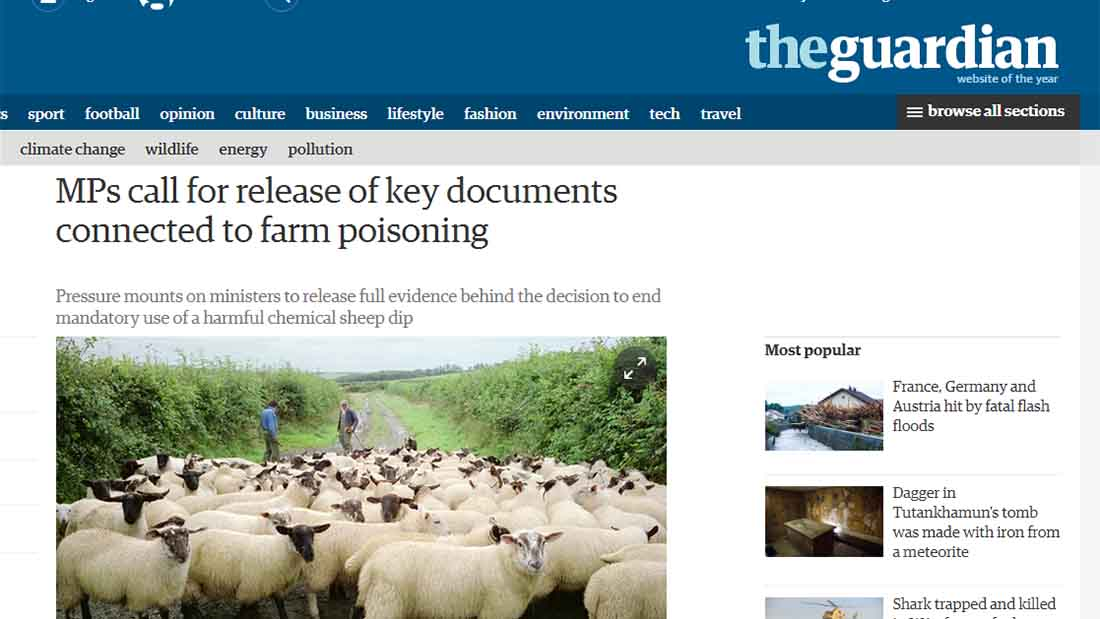 MPs call for release of key documents connected to farm poisoning