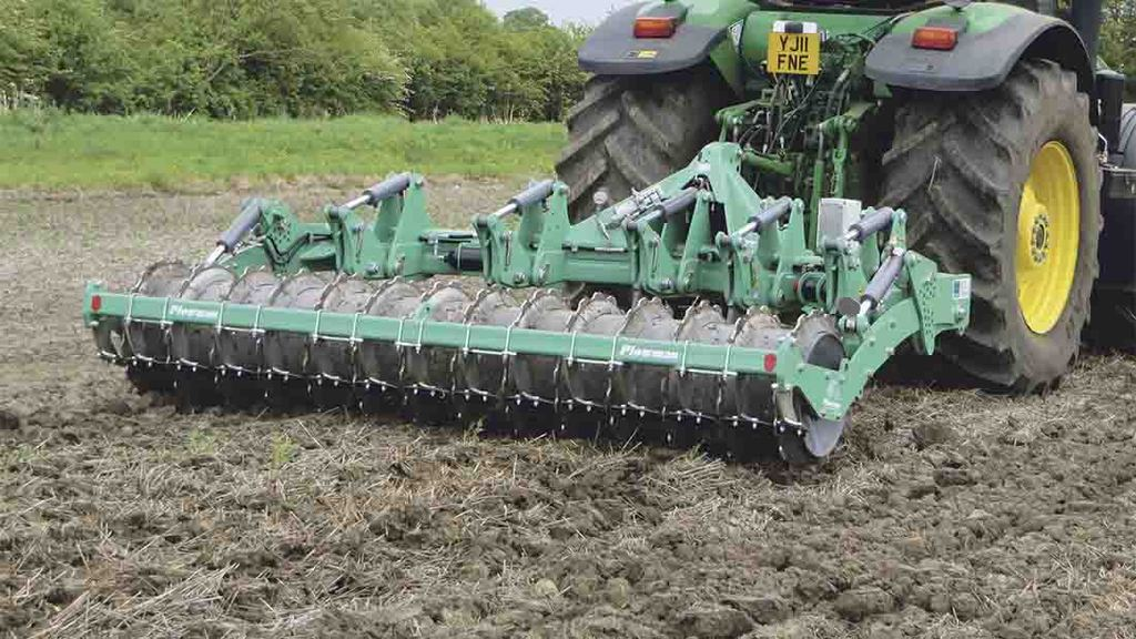 A subsoiler fitted with an automatic depth adjustment system is helping improve efficiency.