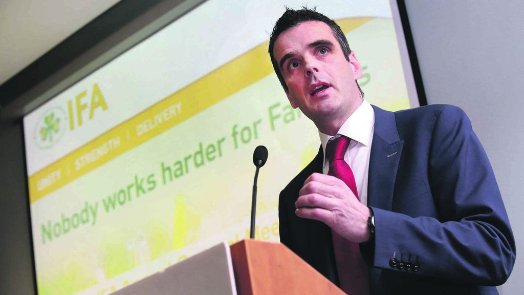 Brexit would damage UK and Irish farmers - IFA president
